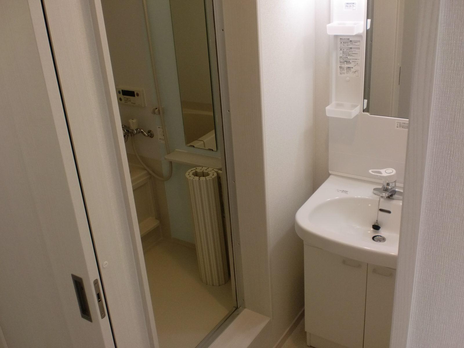 共同住宅:洗面所・バスルーム