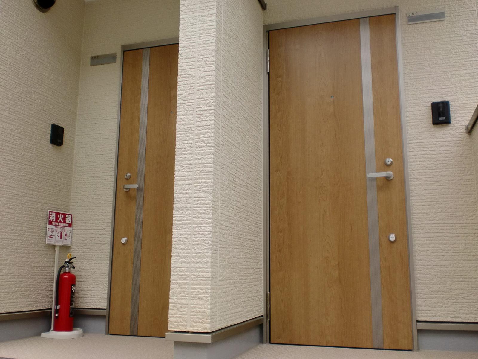 共同住宅:玄関