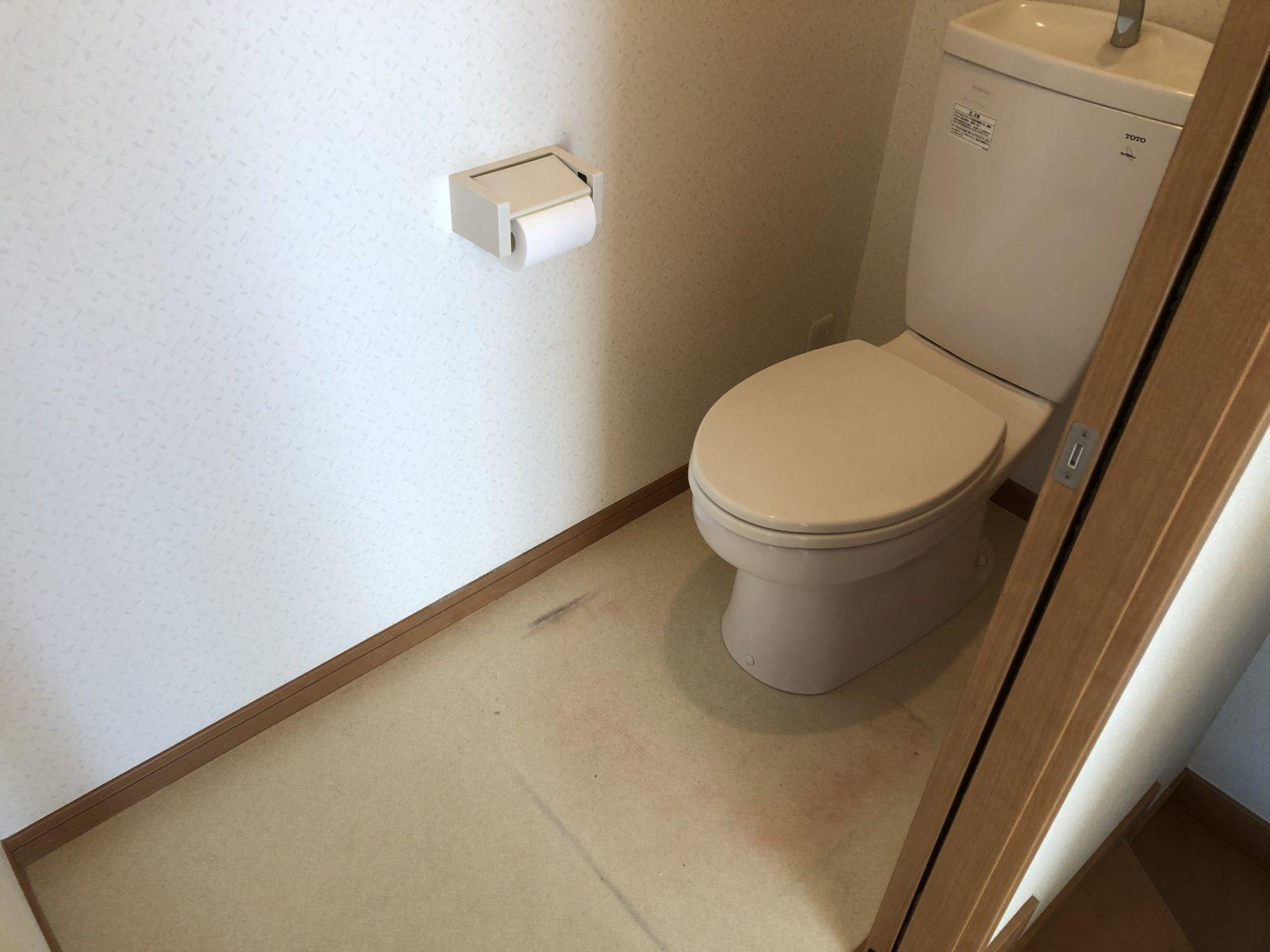 トイレ 【before】
